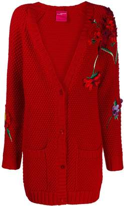 Blumarine floral cardigan