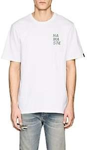 Rag & Bone Men's Namaste Cotton Short-Sleeve T-Shirt - White