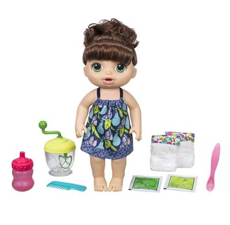 Hair Light Baby Alive Sweet Spoonfuls Baby Doll Girl - Brunette Skin Tone