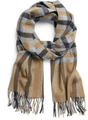 Banana Republic Plaid Wool-Blend Scarf