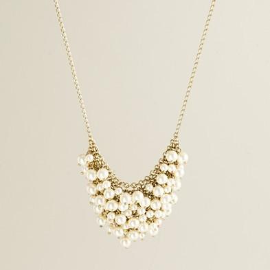 Mini pearl supernova necklace