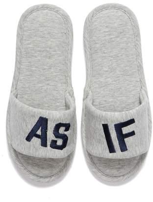Make + Model Hi & Bye Slide Slippers