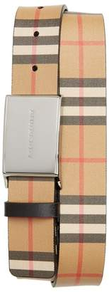 Burberry Charles Check Belt