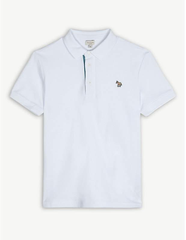 Ridley zebra cotton polo shirt 4-16 years