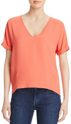 Cooper & Ella Holly V-Neck Top $120 thestylecure.com