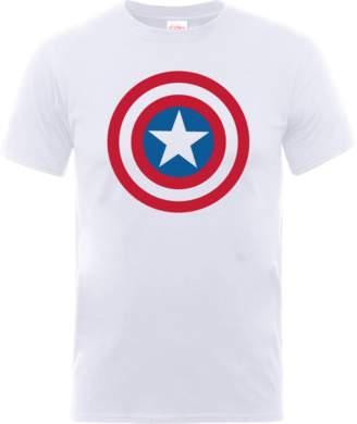 Marvel Avengers Assemble Captain America Simple Shield T-Shirt