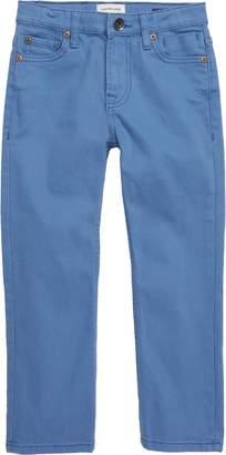 Quiksilver Distorsion Colors Slim Fit Straight Leg Jeans