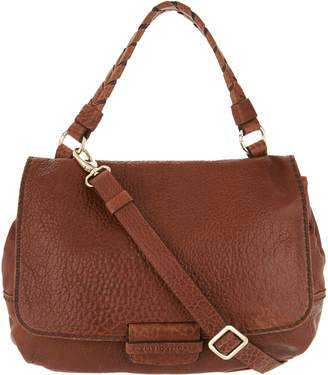 Plinio Visona Plinio Visona' Lamb Leather Convertible Satchel Handbag
