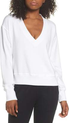 David Lerner Cutout Back Sweatshirt