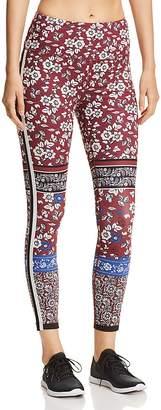 Kate Spade Whimsy Floral-Print Leggings