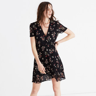 Posy Floral Ruffle Dress $158 thestylecure.com