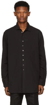 The Viridi-anne Black Button-Down Shirt