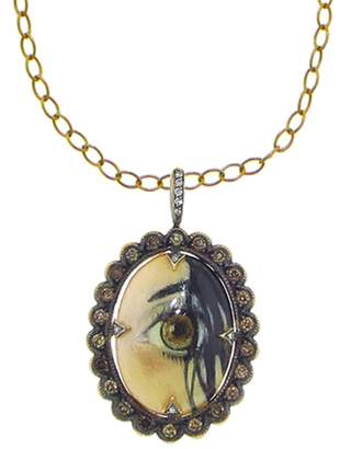 Cathy Waterman Eye of Love Charm