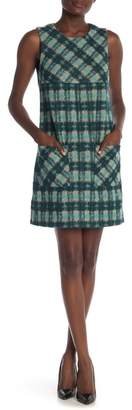 Anna Sui Brushed Tartan Dress