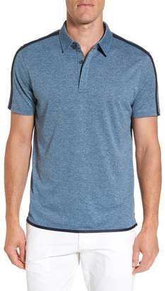 AG Jeans Felton Shoulder Stripe Polo