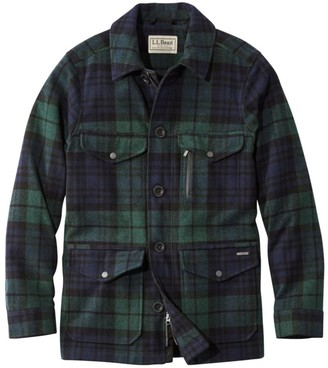 L.L. Bean L.L.Bean Men's TEKWool Insulated Jacket Plaid