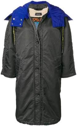 Diesel hooded coat