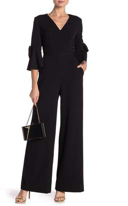 Donna Morgan Bell Sleeve Jumpsuit
