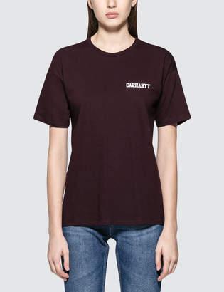 Carhartt Work In Progress College Script S/S T-Shirt
