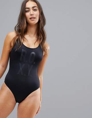 Roxy fitness logo swimsuit