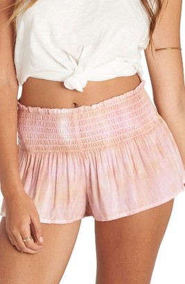 Women's Billabong Breezy Day Tie Dye Shorts $36.95 thestylecure.com