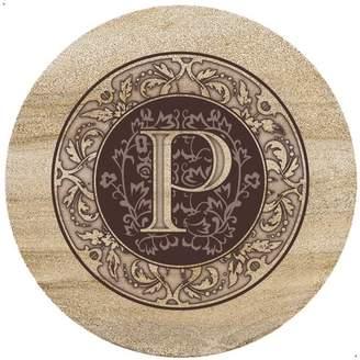 Thirstystone Monogrammed Trivet Letter: P