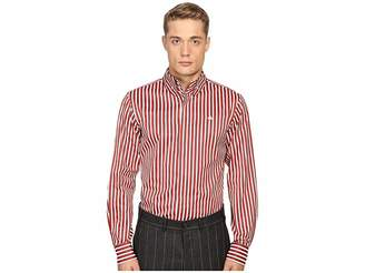 Vivienne Westwood Luxury Stripe Krall Shirt Men's Clothing