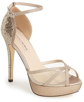 Menbur 'Anora' Ankle Strap Platform Sandal $144.95 thestylecure.com