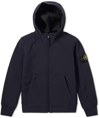 Stone Island Junior Light Soft Shell Hooded Jacket