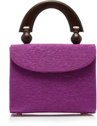 BY FAR Fiona Mini Textured Leather Bag