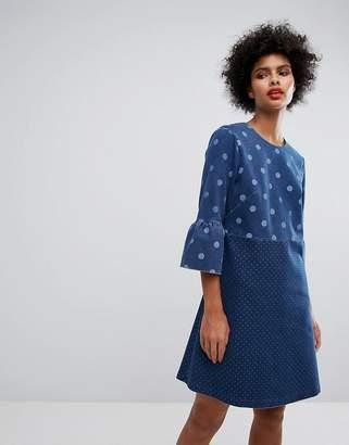 Paul Smith Ps Ps By Denim Spot Dress