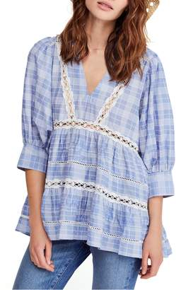 Free People Time Out Lace Tunic