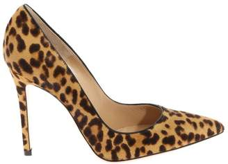 9499208b179 at Italist · Gianvito Rossi Animalier Leopard Print Pointy Pumps