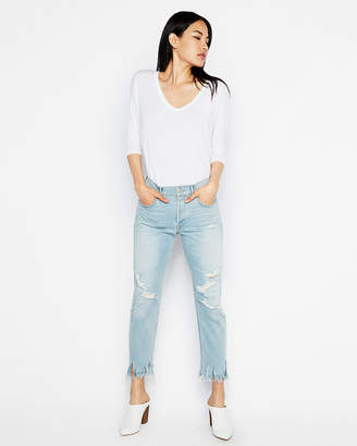 Express One Eleven Strappy Cowl Back London Tee