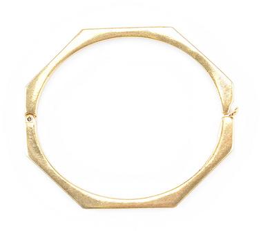 Geo Bangle Bracelet