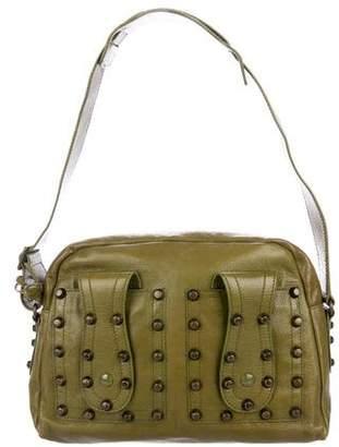 Balenciaga Leather Embellished Shoulder bag