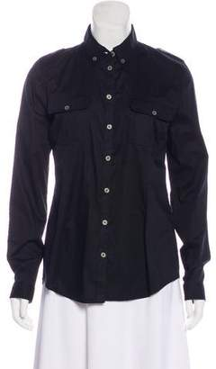 Aquascutum London Collared Long Sleeve Top w/ Tags