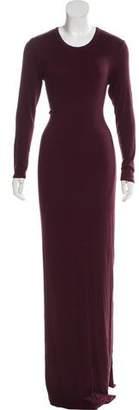 Enza Costa Rib Knit Maxi Dress