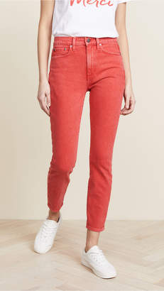 Alice + Olivia AO.LA by Good High Rise Ankle Skinny Jeans