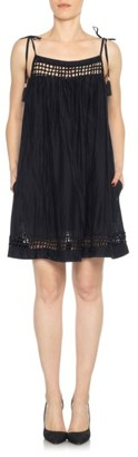 Women's Joe's Layla Cotton & Silk Babydoll Dress $228 thestylecure.com