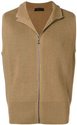 Falke ribbed knit vest