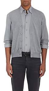 Fioroni Men's Virgin Wool-Cashmere Sweater Vest - Gray
