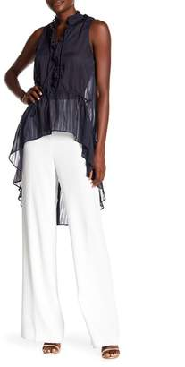 Rachel Roy Hi-Lo Woven Blouse