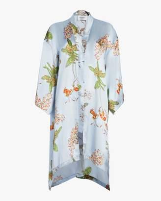 Recreo San Miguel Kimmy Silk Satin Kimono