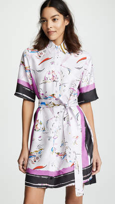 Tory Burch Printed Shirtdress