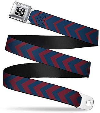 Buckle-Down Unisex-Adults Seatbelt Belt Chevron XL