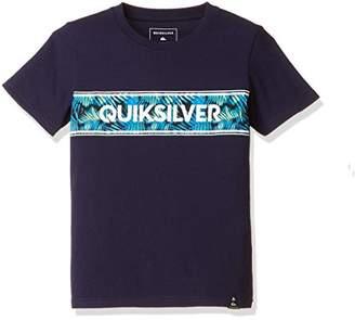 Quiksilver (クイックシルバー) - (クイックシルバー)QUIKSILVER Tシャツ PALMSHADE LOGO ST KI KST172100 [ボーイズ] KST172100 NVY 120