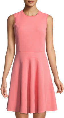 Rebecca Taylor Textured Fit-&-Flare Dress