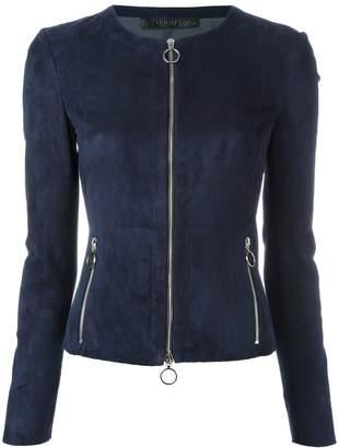 Drome suede zip jacket