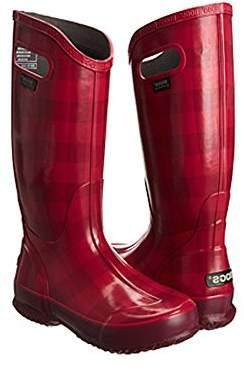 Bogs Women's Buffalo Plaid Rain Boot